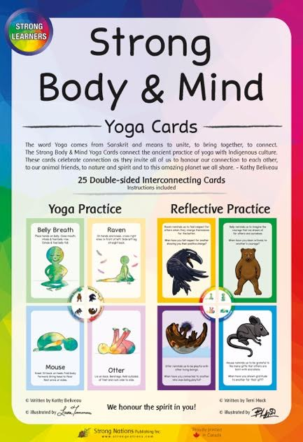 Strong Body & Mind Yoga Cards copy